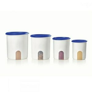 Tupperware One Touch Canisters 4 piece set